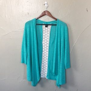 Summer lace cardigan